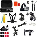 20-in-1 Accessories Kit voor Gopro Hero 1 2 3 3+ 4