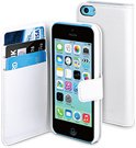muvit iPhone 5C Wallet Case with 3 cardslots White