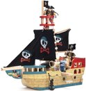 Le Toy Van Jolly Pirate Ship TV341