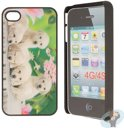 iPhone 4 Hard Case Hoesje - Puppy Love