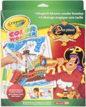 Crayola Color Wonder set Piet Piraat - Kleurboek incl. 5 Stiften