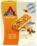Atkins Day Break Cappuccino Nut Reep - 5 x 37 gr - Maaltijdreep