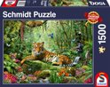 Djungle Tigers - Legpuzzel - 1500 Stukjes