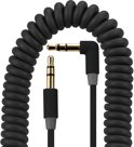 Gecko Soundwire Coiled 3.5mm to 3.5mm Audio Kabel Black