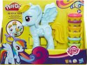 Play-Doh Ultimate Rainbow Dash - glitter - Klei