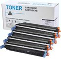 Set 4X Compatible Toner voor Hp 645A Color Laserjet 5500 5550