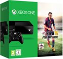 Microsoft Xbox One 500GB Console + 1 Wireless Controller + FIFA 15 - Zwart Xbox One Bundel