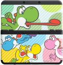 New Nintendo 3DS, Coverplate 028 Multicolor Yoshi's
