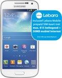 Samsung Galaxy S4 Mini - Lebara Prepaid - Wit