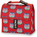 Pack It Koeltas - Mini - 2 Liter - Owls - Rood