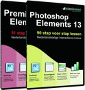 Staplessen voor Adobe Photoshop Elements en Premiere Elements 13 - Nederlands / Windows / Mac / DVD