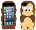 Griffin Kazoo iPod Touch 5G Siliconen Hoes Monkey Brown