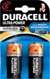 Duracell Ultra Power C Alkaline Batterijen 2x Pak