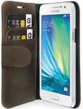 Valenta - Booklet Classic Luxe - Samsung Galaxy A3 - bruin