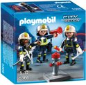 Playmobil Trio brandweermannen - 5366