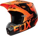 2016 Fox Racing V2 Union Crosshelm Orange Small