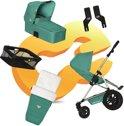 Koelstra Binque Daily Pack - Kinderwagen Compleet - Jade 2013
