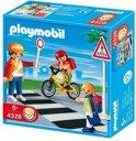 Playmobil Verkeersbegeleider met Kinderen - 4328
