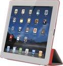 iPad Smart Case Red. Magnetic clip. 2 pos. stand