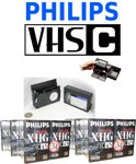 Philips VHS-C bandjes - camera tape - video band