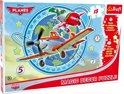 Small foot Wand puzzel planes 15 stuks