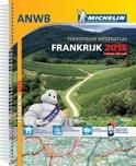 Atlas Michelin ANWB Frankrijk / deel 2015