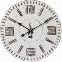 Riverdale Wandklok - Time - Wit - 40 cm