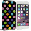 Movizy Polkadot iPhone 6 cover - zwart multicolour