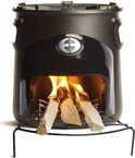 COOX Stove Hout Kooktoestel - Black