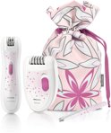 Philips SatinPerfect HP6550/00 Beauty giftset met epilator+ precisie-trimmer