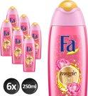 FA Magic Oil Pink Jasmine - 6 st - Douchegel - voordeelverpakking