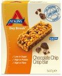 Atkins Day Break Crisp Reep met Chocoladechips - 5 x 37 gr - Maaltijdreep