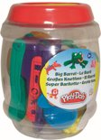 Play-Doh Grote ton met klei, vormpjes en andere attributen - Klei
