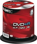 Emtec EKOVPR4710016CB schrijfbare DVD's - DVD+R