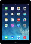 Apple iPad Air - 4G + WiFi - Zwart/Grijs - 32GB - Tablet