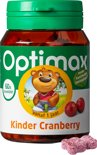 Optimax Kinder Cranberry - 60 Kauwtabletten - Voedingssupplement