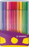 Stabilo Pen 68 Colorparade - Viltstift - Lila