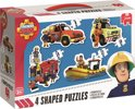 Fireman Sam 4 puzzels in 1 - Kinderpuzzel