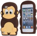 iPod Touch 5 Silicone Monkey cover case, hoesje