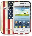 Celly Samsung Galaxy Fame Gelskin Case USA Flag