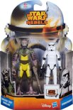 Star Wars Rebels: Mission Zeb & Stormtrooper 2 Pack