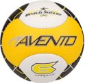 Avento Mini Voetbal Strand - Soft Touch - Geel/Wit/Zwart - 3