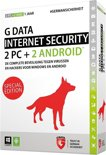 G Data Internet Security 2015 - Nederlands / Special Edition / 1 Gebruiker / 1 Jaar / 4 Apparaten / Productcode zonder DVD