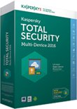 Kaspersky Total Security Multi-Device - Nederlands / Frans / 1 Gebruiker / 3 Apparaten / DVD