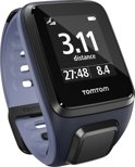 TomTom Runner 2 Cardio - GPS Sporthorloge - sky captain blue / licht paars - small