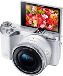 Samsung NX500 - 16-50mm + 50-200 mm - Systeemcamera - Wit