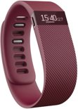 Fitbit Charge activity tracker - Burgundy - Maat S polsmaat 14 - 17 cm