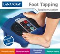 Lanaform Voetmassageapparaat Foot Tapping Rood
