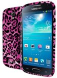 Celly Samsung Galaxy S4 Mini Gelskin Case Pink Animal