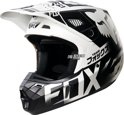 2016 Fox Racing V2 Union Crosshelm Wit Large